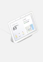 Google - Google Nest Hub Smart Display Speaker - Chalk