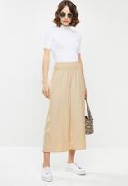 Vero Moda - Molla highwaist culotte pant - neutral