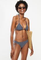 Roxy - Beach classics tiki tri - navy & white