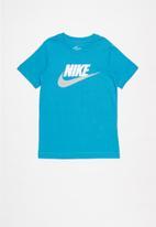 Nike - Boys nike sportswear tee future icon td - laser blue