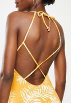 Roxy - Beach classics fashion one piece - yellow