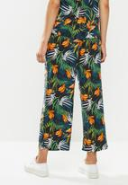 edit - Relaxed fit highwaist pant - multi