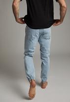 Cotton On - Slim denim jogger - brooklyn blue