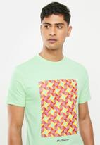 Ben Sherman - Board tee - mint