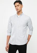 Ben Sherman - Grey hound ls shirt - grey