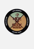 W7 Cosmetics - Hide 'N' Seek - Anti-Redness Green Concealer Quad