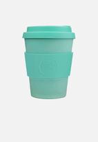 Ecoffee Cup - Inca bamboo ecoffee cup - 400ml - turquoise