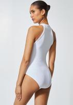Superbalist - 2Pack cutaway bodysuit - black & white