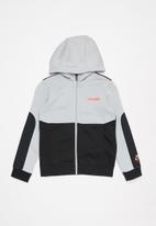 Nike - B nsw nike air fz hoodie  - grey & black