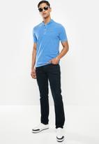 POLO - Pjc eric collarless golfer - blue