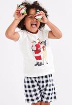 Cotton On - Hudson short sleeve pyjama set - vanilla