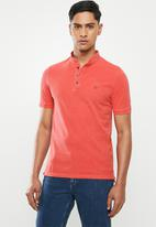 POLO - Pjc eric collarless golfer - red