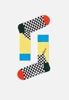 Happy Socks - Paint sock - check
