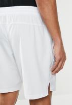 Reebok - Wor woven graphic shorts - Porcelain