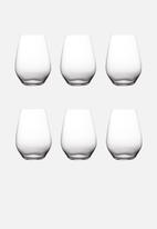 Maxwell & Williams - Vino Stemless Red Wine Set of 6 - 400ml
