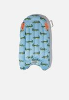 Cotton On - Inflatable boogie board - sky haze sketchy croc