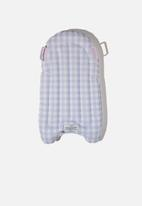 Cotton On - Inflatable boogie board - lilac gingham