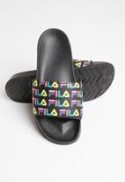 FILA - Rainbow aop - black