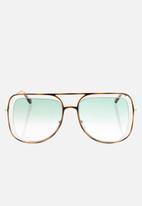 Chloe - Chloe sunglasses  - havana brown