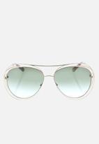 Chloe - Chloe sunglasses  - gold havana green lens