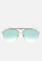 Chloe - Chloe sunglasses  - gold gradient petrol