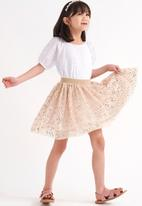 Cotton On - Trixiebelle dress up skirt - gold sparkle