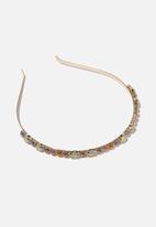 Cotton On - Headband- luxe - pastel gems