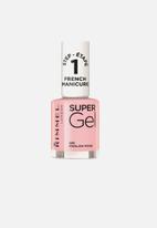 Rimmel - Super Gel French Manicure - English Rose