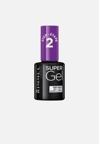 Rimmel - Super Gel Nail Polish - Top Coat