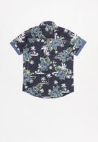 SOVIET - Boys shirt - navy