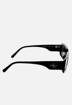 CALVIN KLEIN JEANS - Calvin Klein Jeans rectangle sunglasses  - black