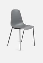 Sixth Floor - Perry dining chair - charcoal