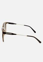 CALVIN KLEIN JEANS - Calvin klein jeans rectangle sunglasses  - crystal taupe