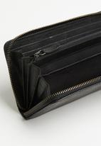 BUSBY - Zulu clutch purse - black