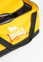 Lonsdale - Travel bag - black & yellow