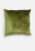Hertex Fabrics - Scarab cushion cover - olive