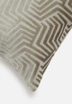 Hertex Fabrics - Apex cushion cover - plata