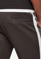 G-Star RAW - Side stripe sw pant - dark grey