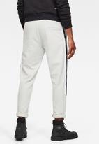 G-Star RAW - Side stripe sw pant - grey
