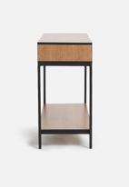 Sixth Floor - Pigeon console - natural & black