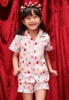 Cotton On - Patty woven short sleeve pj set - pink