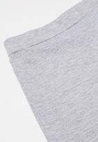 POP CANDY - Boys shorts & tee pj set - aqua & grey