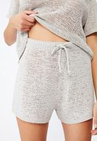Cotton On - Summer lounge short - grey silver