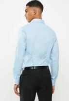 POLO - Christiaan slim fit long sleeve shirt - light blue