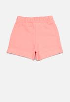 Quimby - Girls sweat shorts - pink