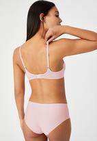 Cotton On - Ultimate comfort T-shirt bra - lilac snow
