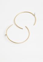 Tessa Design - Lianne hoop earrings - gold