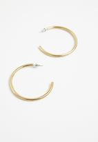 Tessa Design - Marienkie hoop earrings - gold
