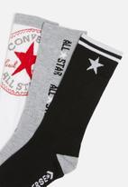 Converse - Chn cnvs ctp high crew 3 pack - multi