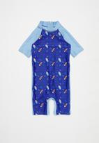 POP CANDY - Boys printed swimsuit - blue